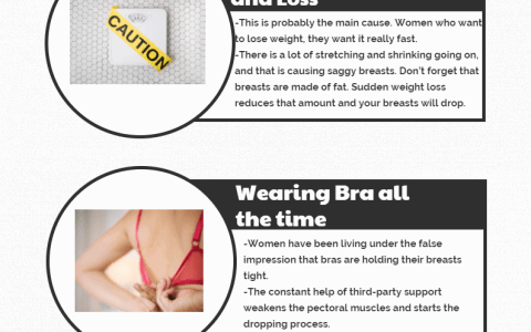 Prevent Saggy Breasts By Getting Rid of These 3 habits