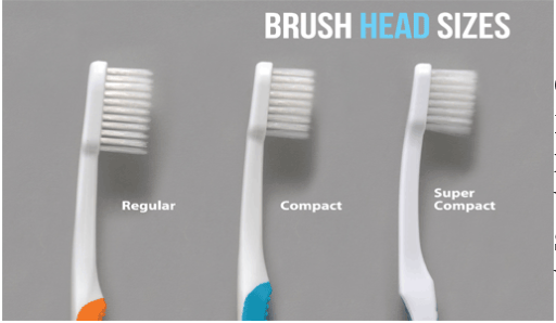 Bristle size of tooth brush does matter