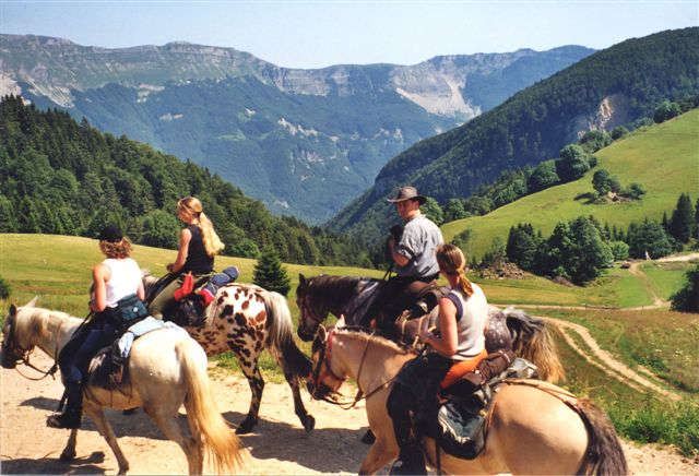 Horseback riding holidays in France