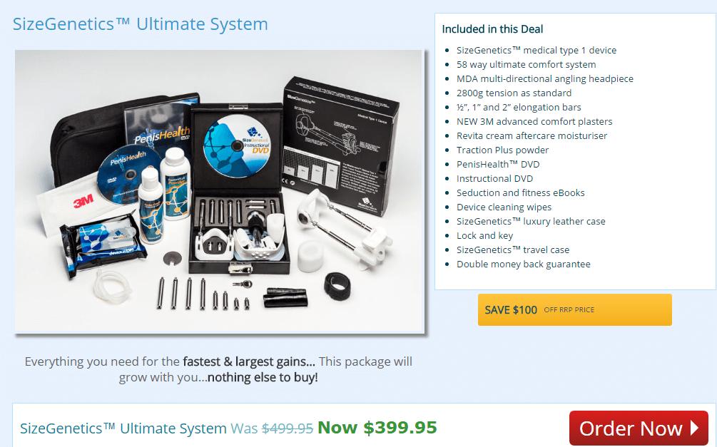 UltimateSystem-sizegenetics_price