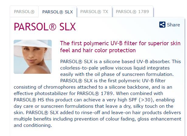 parsol slx