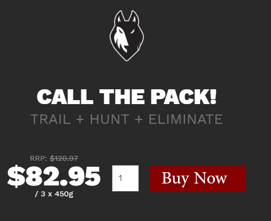 Blackwolf Workout BUy Now