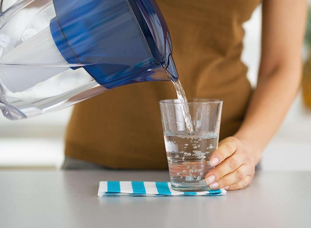 الماء لانقاص الوزن