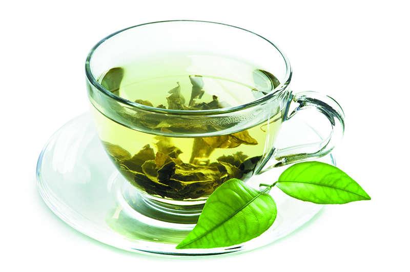 حبوب الشاي الأخضر