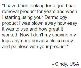 Hair Removal Cream Testimonials3