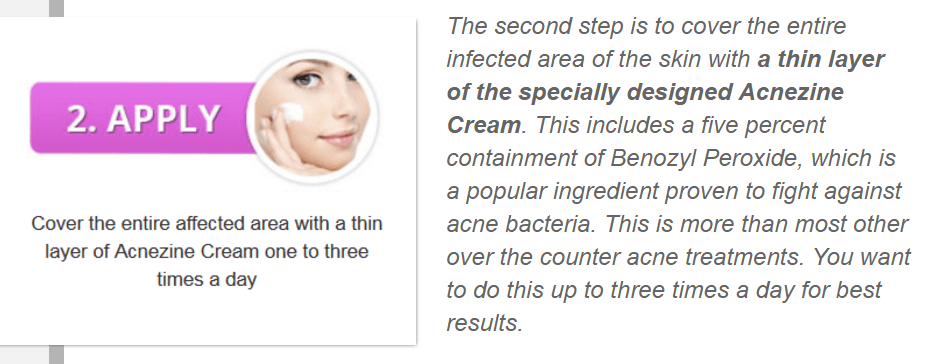apply_the_acnezine_cream_to_clean_skin