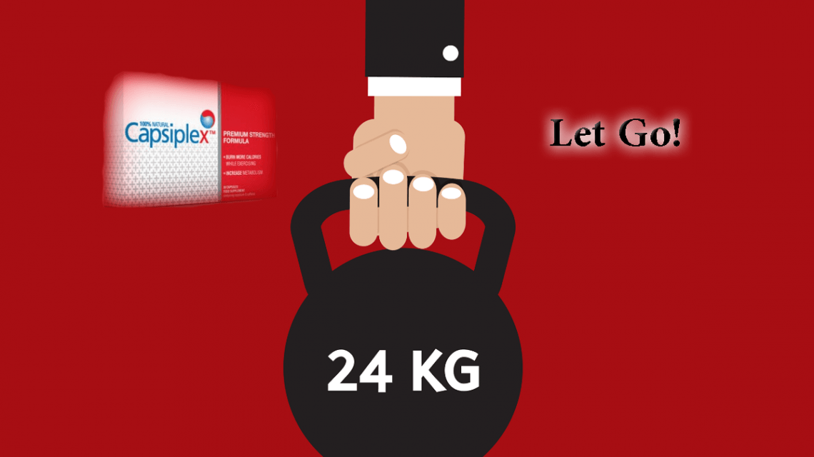burn calories with capsiplex and let go of fats