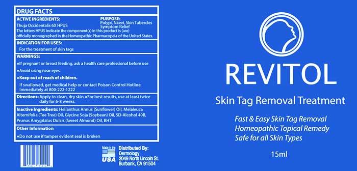 revitol-skintag-label