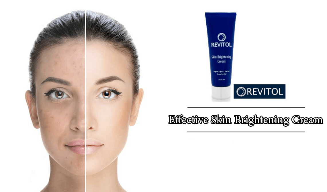 From Darker To Brighter Skin in 14 Days With Revitol Skin Brightening Cream