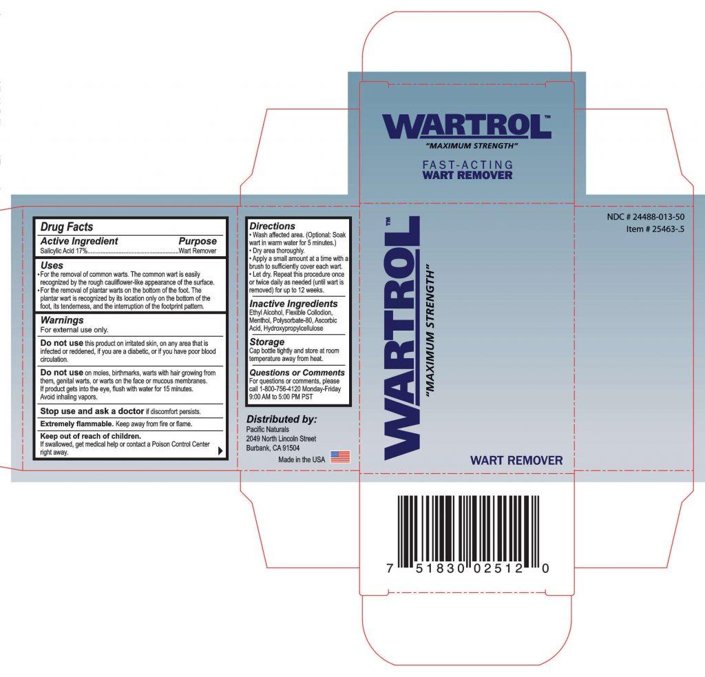 Wartrol. ingredients