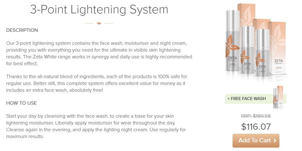 Buy Zeta White Now - Skin Whitening Cream