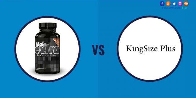 maleExtra VS KingSize Plus male enhancement