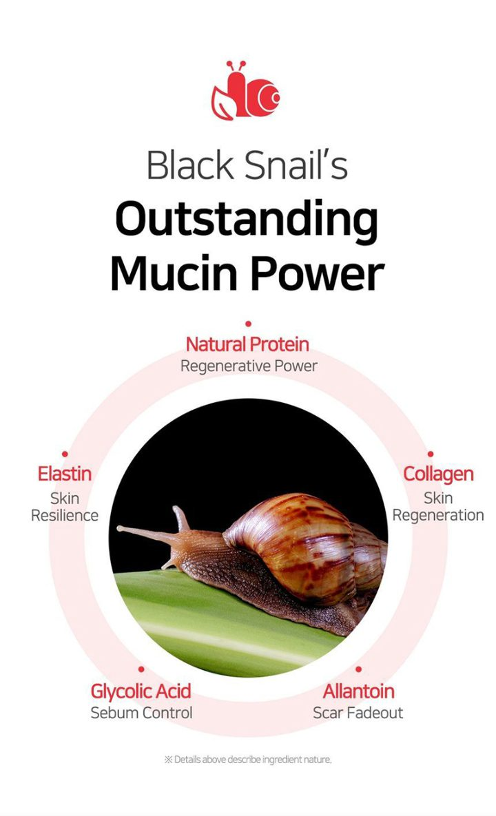 Ingredients of SOME BY MI Snail Serum